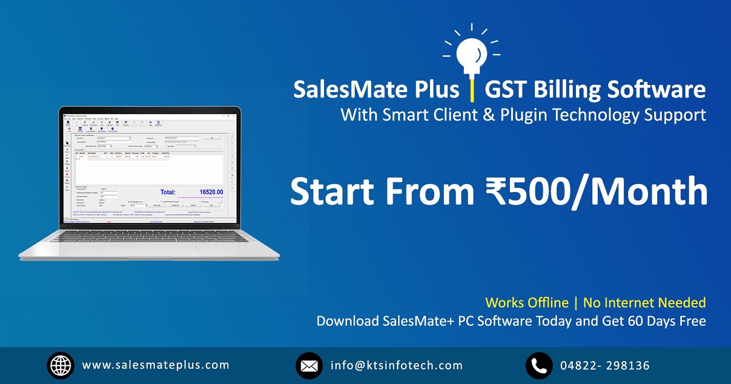 GST Billing Software | Accounting Software India | GST Invoice Software
